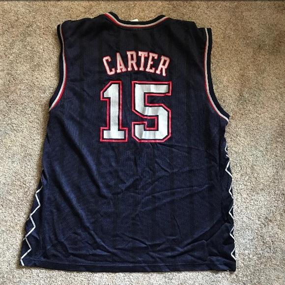 Reebok Vince Carter New Jersey Nets Jersey. M 5b24253cd6dc5284e8e545cc a40cb8ab2